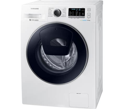 buy samsung addwash ww80k5410uw washing machine white free delivery currys