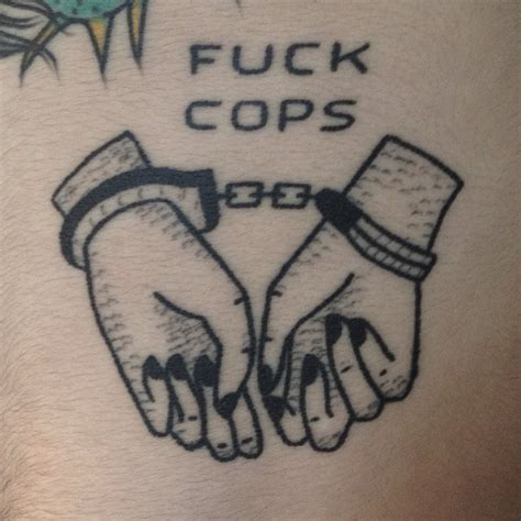 acab tattoo spotlight slower black poked tattoos
