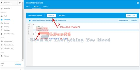 membuat database firebase ridhan rc cara membuat projek baru di firebase dengan mudah