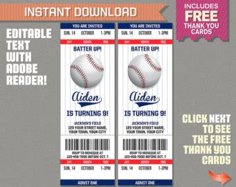 free printable baseball ticket template baseball ticket invitation template free orderecigsjuice