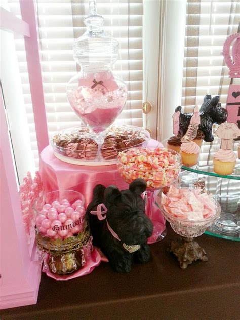 juicy couture baby shower decorations my creations juicy couture baby shower party ideas photo 2 of 28