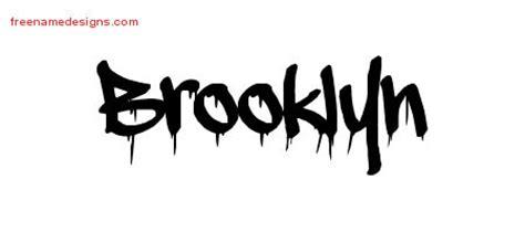 graffiti name tattoo designs brooklyn free lettering