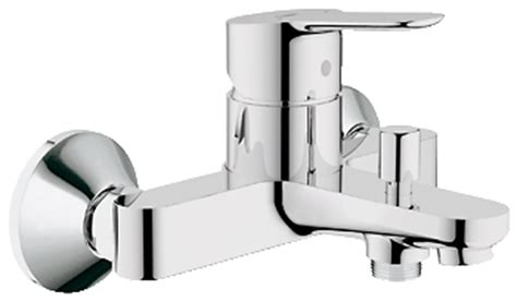 kitchen sinks and tobago grohe bauedge single lever shower mixer 32820000