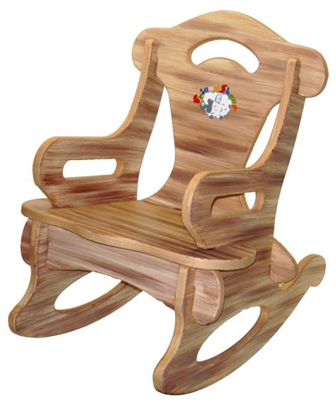 childrens wooden armchair attentiongrabbing child wooden rocking chair household