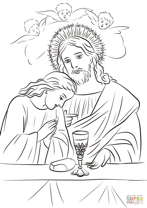 Holy Communion Printable Coloring Pages by Holy Communion Coloring Page Free Printable