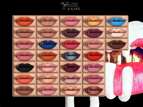 kylie sims 4 lip kit kylie lip kit we are proud to release our quot kylie sims