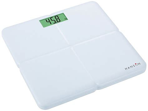 hanson digital bathroom scales hanson digital bathroom weight scale electronic white
