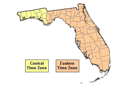 us time zones florida map matelic image us time zone map florida