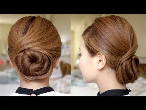 youtube tutorial updo sophisticated twisting bun hair tutorial youtube