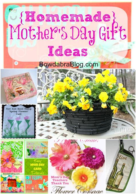 homemade mothers day gifts feature friday homemade mother s day gift ideas bowdabra blog