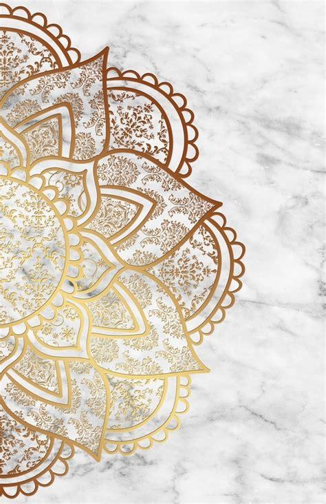 Mandala Gold mandala gold marble an print by alexandre ib 225 241 ez inprnt