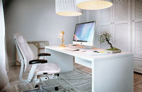 white desk chair interior design ideas
