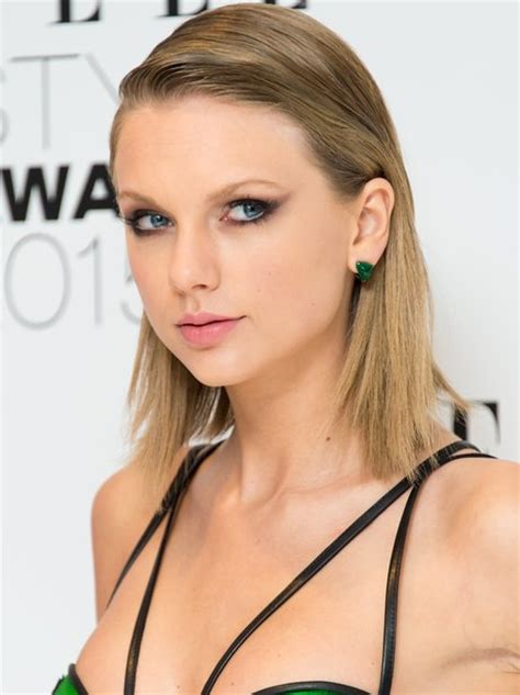 taylor swift 2015 short haircut back view taylor swift slicked back hair 2015 s hottest beauty