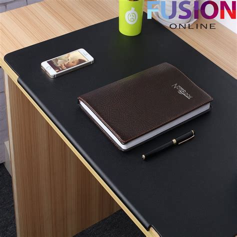 large leather desk mat large leather mouse pad mat gaming desk writing mat pvc