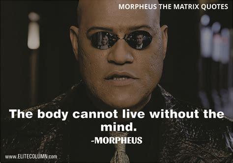 morpheus  matrix quotes  find  calling elitecolumn