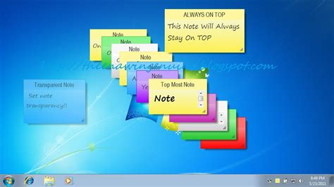from the desk of sticky notes 7 sticky notes free windows 7 style sticky notes for your