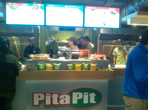 pit restaurant review of canadian service restaurant chain pita pit