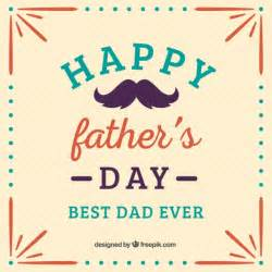 happy father s day template vector free download