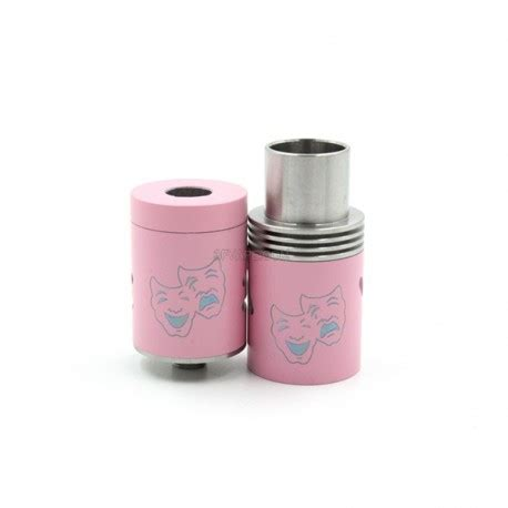 Rda Two 22mm Atomizer two pink 22mm stainless steel rda rebuildable