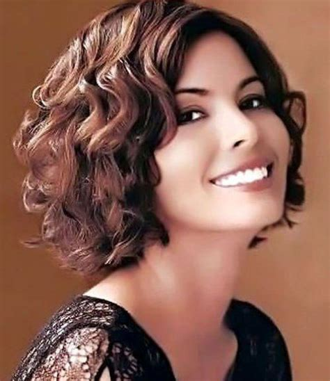 hair cut for big face frizzy hair 15 short curly hair for round faces short hairstyles