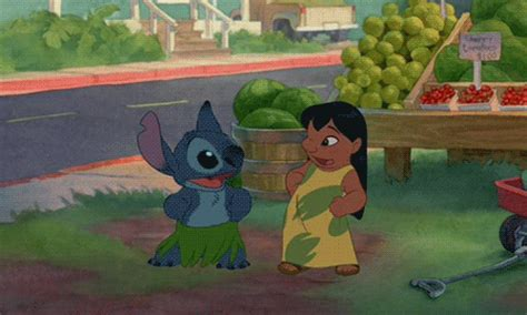 thought stitch gif find share on giphy lilo and stitch love gif find share on giphy