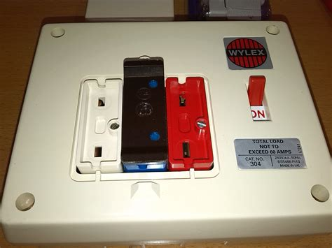 wylex fuse box replacement wiring diagram with description
