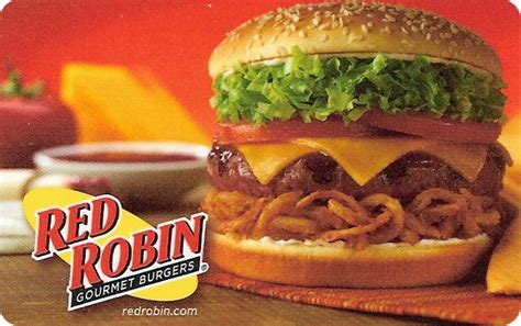Red Robin Gift Cards - restaurant clientlink inc