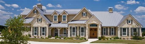 Craftsman Homes Plans Hill Country Custom Home Builder Authentic Custom Homes