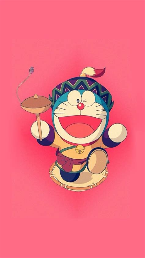 Kaos Doraemon Baseball Kty running doraemon iphone 6 6 plus and iphone 5 4 wallpapers