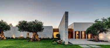 Villa Design by Modern Luxury Villas Designed By Gal Marom Architects