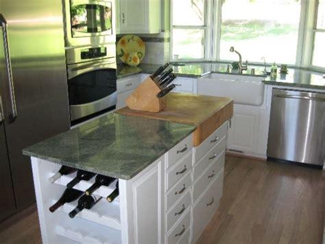 82 quot green kitchen island with solid wood top hou 57 l butcher block countertops sacramento ca best home design