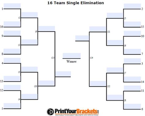 printable 4 name baby girl tournament bracket fillable seeded 16 team tournament bracket editable