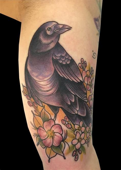 sweet trade tattoo tattoos monica painter black bird