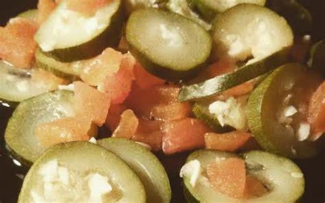 cuisine etudiant fr recette courgettes 224 la tomate pas ch 232 re et facile