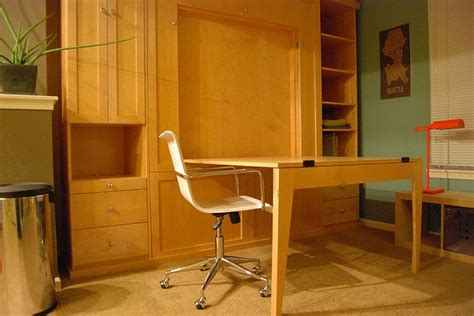 murphy bed with table 27 best exles of murphy beds and tables