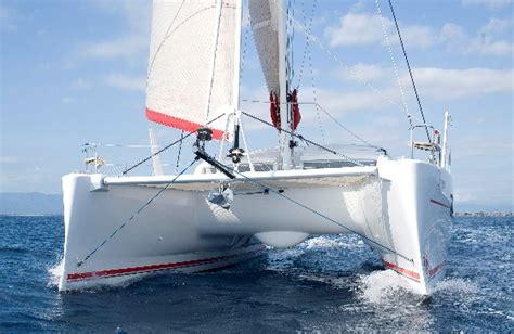 catamaran hull efficiency boats