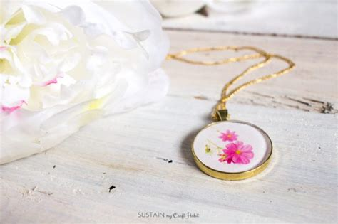 supplies needed to make jewelry how to make resin jewelry diy birth month flower pendants