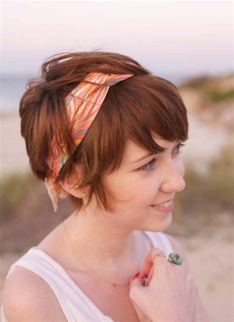 Kurzhaarfrisuren Mit Haarband by Kurze Frisuren Mit Haarband Modische Frisuren F 252 R Sie