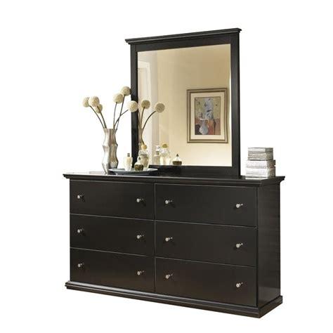 Maribel Set maribel 2 wood dresser set in black b138 31