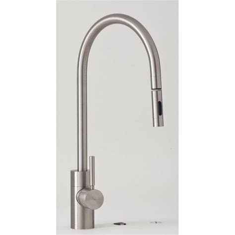 usa made kitchen faucets 5300 plp contemporary extended reach pulldown kitchen faucet
