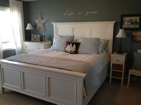 eddie bauer bedroom set my room blue white bedroom pottery barn pick stitch