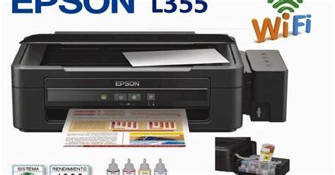 Tinta Printer Epson L355 printer epson l355 hemat tinta dan mencetak cepat