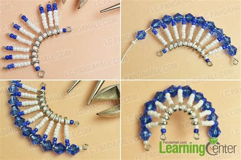 how to make tribal style chandelier earrings with safety