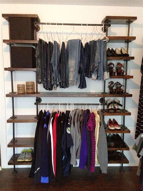 best 25 industrial closet ideas on diy closet