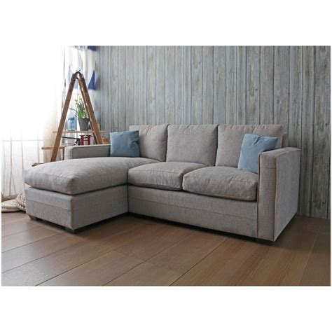 small chaise sofa henderson limehouse small sofa and chaise by home of the sofa