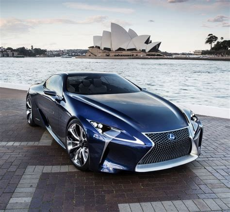lexus sports car blue lexus lf lc blue concept underwhelms in australia