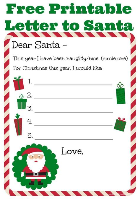 free letters from santa template 25 best ideas about santa letter template on