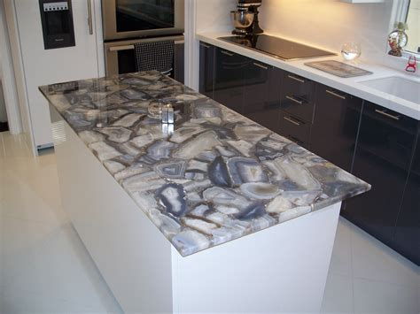 Semi Precious Countertops by Custom Kitchens New Jersey S Leading Fabricator