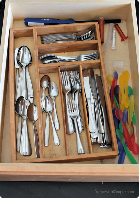 How To Organize In Drawers by How To Organize Kitchen Drawers Somewhat Simple