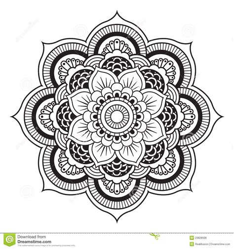 printable mandala images free mandala patterns fill in mandala royalty free stock